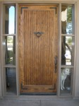 Residentail Front Door Refinishing